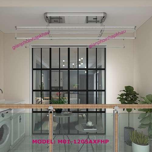Giàn phơi điện tử Model M01-1205AXFHP