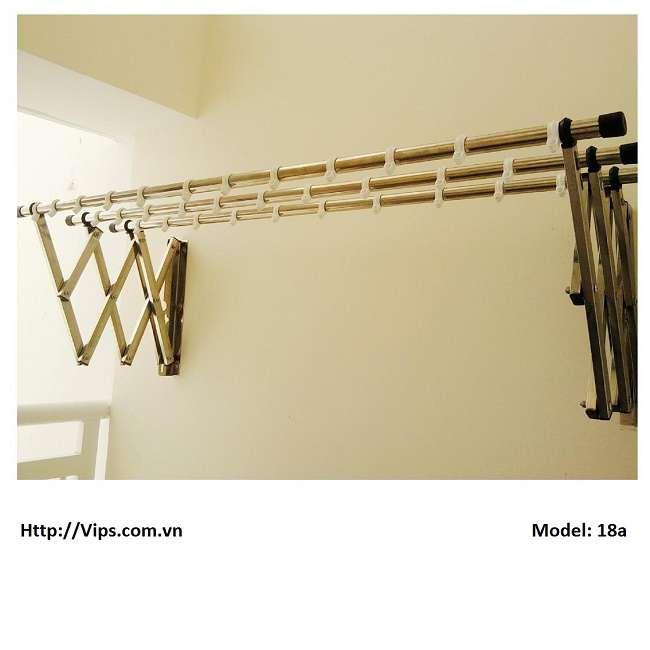 Giàn phơi gắn tường Model 18a