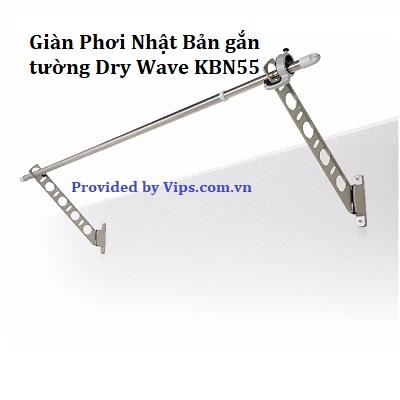 Giàn phơi Nhật Bản nhập khẩu Dry Wave KBN