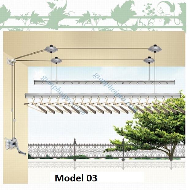 Giàn phơi Singapore Model 03