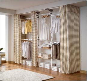 Giá treo quần áo cho phòng thay đồ 4 cấp jacquard (trắng) TB (LS-1923) và (LS-2036)
