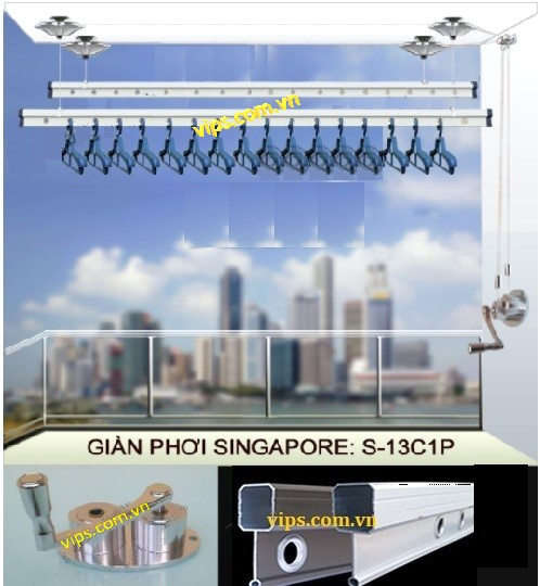 Giàn phơi SGWares của Singapore chất lượng cao