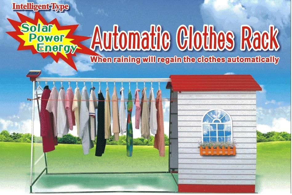 Giàn phơi tự thu cất quần áo