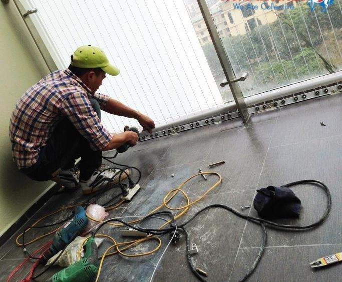Hướng dẫn lắp đặt lưới an toàn cho ban công, cửa sổ, hành lang