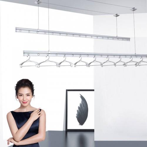 Lắp bộ giàn phơi cao cấp ở bạn công rộng 1m nhà anh Tài, N02 Trần Đăng Ninh