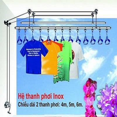Lắp đặt giàn phơi quần áo thông minh tại đô thị Thái Bình