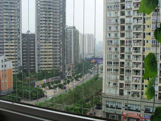 Lưới an toàn ban công cho căn hộ chung cư