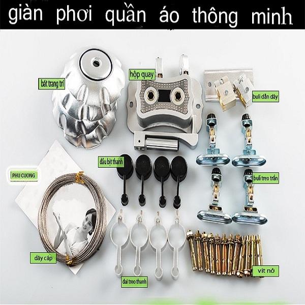 Top 10 dịch vụ giàn phơi thông minh tại nhà nhanh và uy tín nhất ở Hà Nội