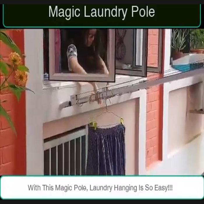 Xem cách phơi đồ quần áo của người dân Hồng Công trong khu chung cư chật chội