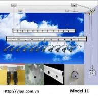 Giàn phơi thông minh Model 11