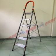 Thang inox Pro bản to 6 bậc