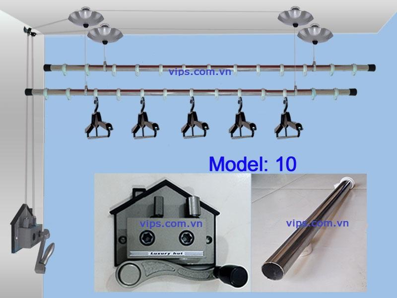 giàn phơi model 10