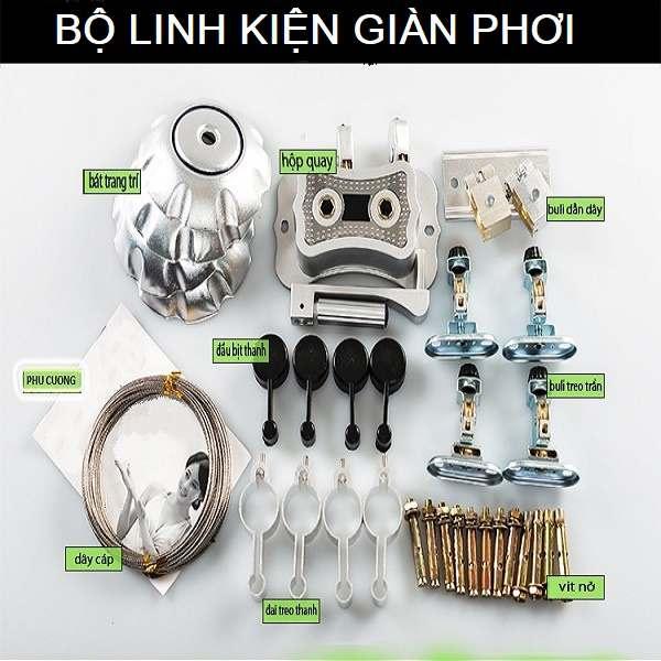 Sửa giàn phơi đồ thông minh tại quận Long Biên, Hà Nội