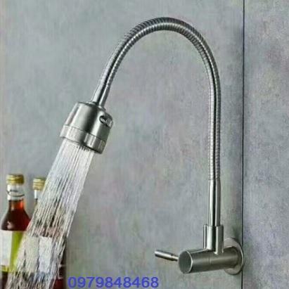 Vòi chậu rửa bát KB 14N Inox 304