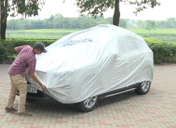 Bạt phủ ô tô 4