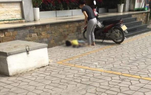 Bé trai khoảng 4 tuổi rơi từ ban công tầng 3 chung cư xuống đất tử vong thương tâm