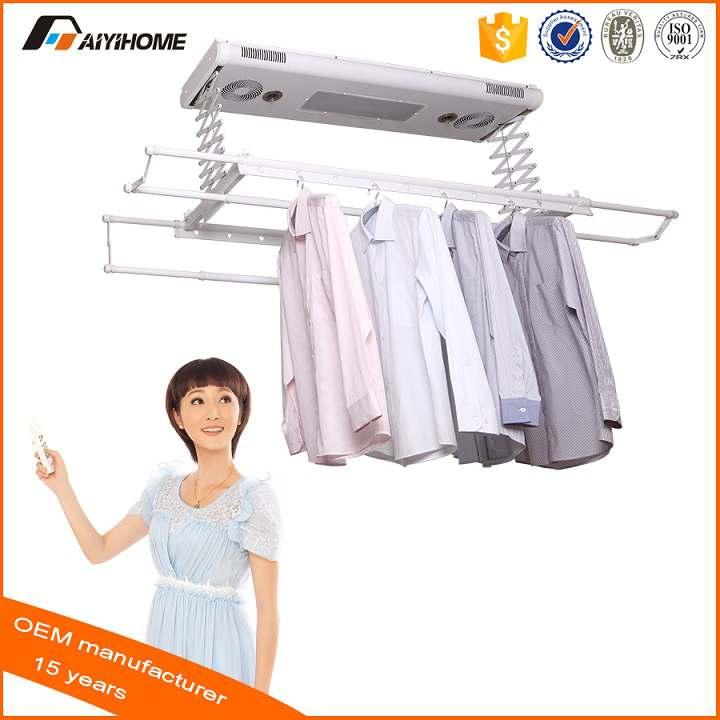 Giá phơi quần áo tự động AY-616-12FSS