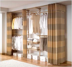 Giá treo quần áo cho phòng thay đồ