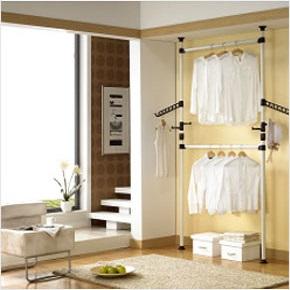Giá treo quần áo hai tầng / Loại cơ bản
