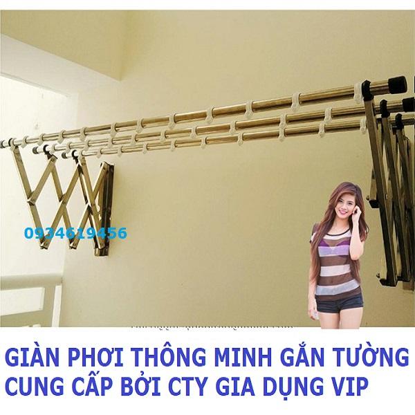 Giàn phơi thông minh tại Quảng Nam