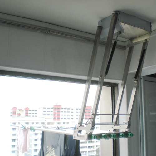 giá phơi kiểu thang máy