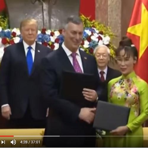 Ký các hợp đồng nhiều tỷ đô ngay tại cuộc gặp giữa CTN Nguyễn Phú Trọng & Tổng thống Trump