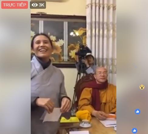 Trực tiếp đối chất bà Phạm Thị Yến, chùa Ba Vàng